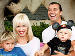 Gwen Stefani and Gavin Rossdale Take the Kids to Disneyland | Gwen Stefani