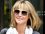Heidi Klum Stops for Coffee and Shopping at Barneys | Heidi Klum