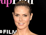 Heidi Klum Shoots Her New Shoes