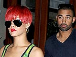 Rihanna Stops at a Tattoo Parlor with Beau Matt Kemp | Rihanna
