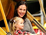 Jennifer Garner and Violet Have a Girls' Day Out | Jennifer Garner