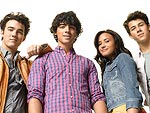 Demi Lovato and The Jonas Brothers Camp Out