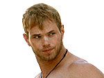 Kellan Lutz Shows Off His Pecs | Kellan Lutz
