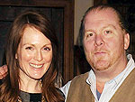 Julianne Moore and Mario Batali Share Pasta Recipes