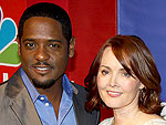 Blair Underwood and Laura Innes Get Ready for The Event