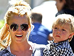 Britney Spears Spends Time with Birthday Boy Jaden | Britney Spears