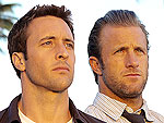 Hawaii Five-O's Scott Caan and Alex O'Loughlin Make Waves