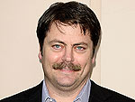Parks and Recreation's Nick Offerman: What Wife Megan Mullally Thinks of My Beard