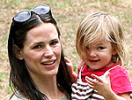 Jen Garner Cheers at Daughter's Soccer Game | Jennifer Garner