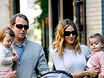 SJP & Matthew Broderick Have a Park Date with their Girls | Matthew Broderick, Sarah Jessica Parker