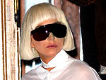Lady Gaga Wears Sunglasses at Night | Lady Gaga