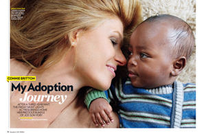 Connie Britton: My Adoption Journey
