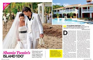 Shania Twain's Island 'I Do'