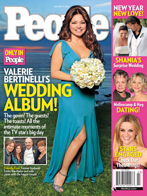 photo | Wedding, Celebrity Wedding Albums, Valerie Bertinelli Cover, Frederic Thiebaud, John Mellencamp, Meg Ryan, Reese Witherspoon, Shania Twain, Valerie Bertinelli