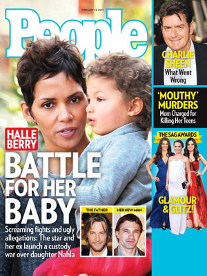 photo | Family Drama, Halle Berry Cover, Charlie Sheen, Gabriel Aubry, Halle Berry, Mila Kunis, Natalie Portman, Olivier Martinez, Sofia Vergara