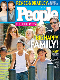 Brad & Angelina: Happy as a Clan