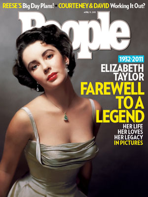 photo | Tributes, Elizabeth Taylor Cover, Elizabeth Taylor