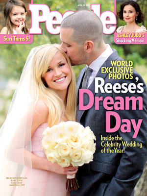 photo | Wedding, Celebrity Wedding Albums, Reese Witherspoon Cover, Ashley Judd, Jim Toth, Reese Witherspoon, Suri Cruise