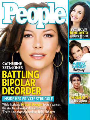 photo | Battling Illnesses, Catherine Zeta-Jones Cover, Aretha Franklin, Catherine Zeta-Jones, Demi Lovato, Mariska Hargitay