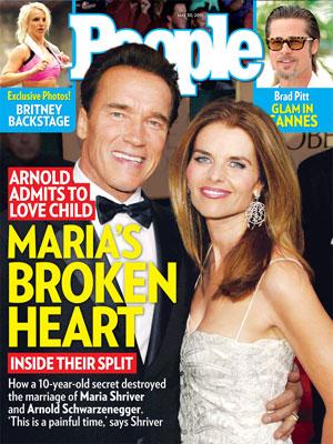 photo | Affairs, Arnold Schwarzenegger Cover, Maria Shriver Cover, Arnold Schwarzenegger, Brad Pitt, Britney Spears, Maria Shriver