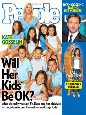 photo | Reality TV, Gosselins On Cover, Blake Lively, Kate Gosselin, Ryan Gosling, Zoe Saldana