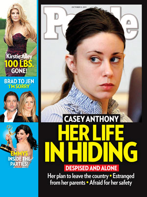 photo | Casey Anthony Cover, Caylee Anthony on Cover, Brad Pitt, Casey Anthony, Caylee Anthony, Jennifer Aniston, Julianna Margulies, Kirstie Alley