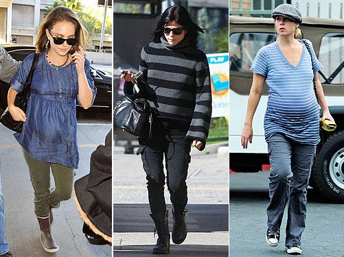 1 Trend, 3 Ways: Maternity Cargo Pants – Moms & Babies – Celebrity ...