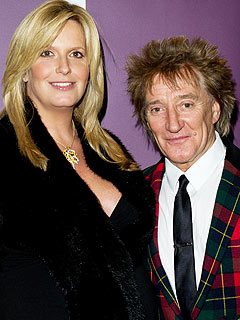 Rod Stewart Welcomes a Son