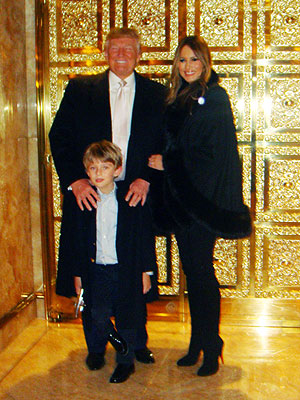 barron trump celebrates fifth birthday