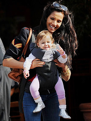 Spotted Padma Lakshmi Totes Her Tot Moms Amp Babies