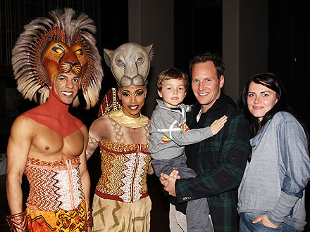 Family photo of the actor, married to Dagmara Dominczyk, famous for The Switch, The Ledge & The Conjuring.