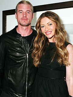 eric dane 240 Eric Dane and Rebecca Gayheart Expecting Second Child