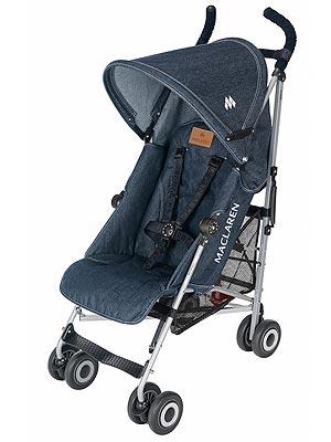 Review Maclaren Denim Quest Umbrella Stroller Moms