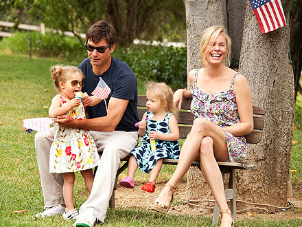 Image result for rebecca romijn and family