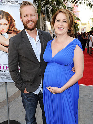 pam the office actually pregnant