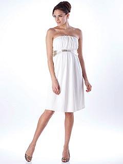 White Mini Dress on Trend  3 Ways  White Mini Maternity Dresses     Moms   Babies