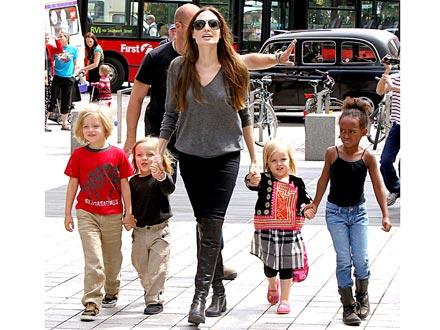 Angelina Jolie Wedgie