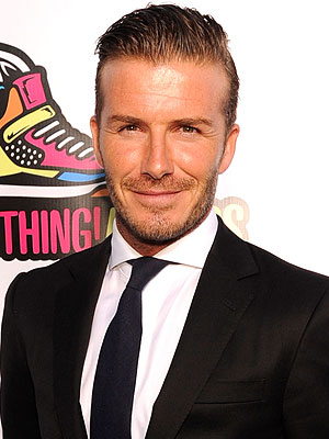 David Beckham Works the Room at His Fragrance Launch