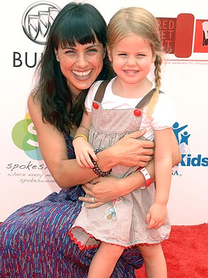 Photo of Constance Zimmer & her Daughter  Colette Zoe Lamoureux