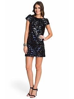 SEQUIN MATERNITY DRESS - Mansene Ferele