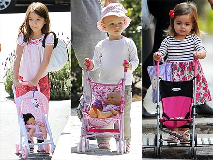 1 Trend, 3 Ways: Mini Doll Strollers – Moms & Babies – Celebrity ...