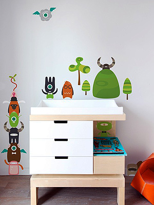 Brighten Up Your Child's Room with Baby Bot Wall Decals ...