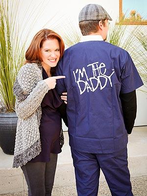 Sarah Drew and son