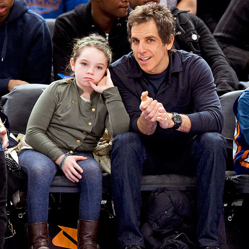 ELLA STILLER photo | Ben Stiller, Christine Taylor