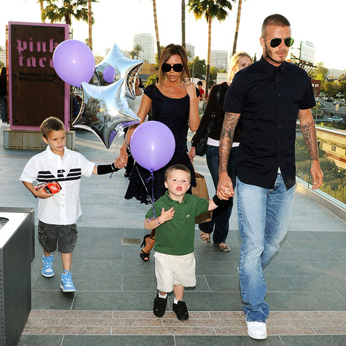 HAPPY 'B' DAY photo | David Beckham, Victoria Beckham