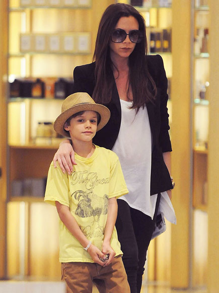 MOMMY & ME photo | Victoria Beckham