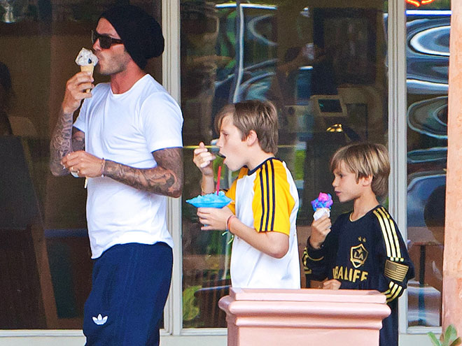 SWEET ESCAPE photo | David Beckham