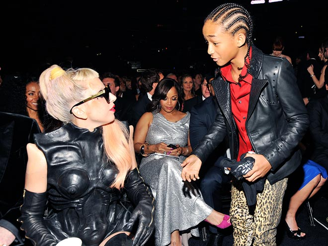 LADY GAGA photo | Jaden Smith, Lady Gaga