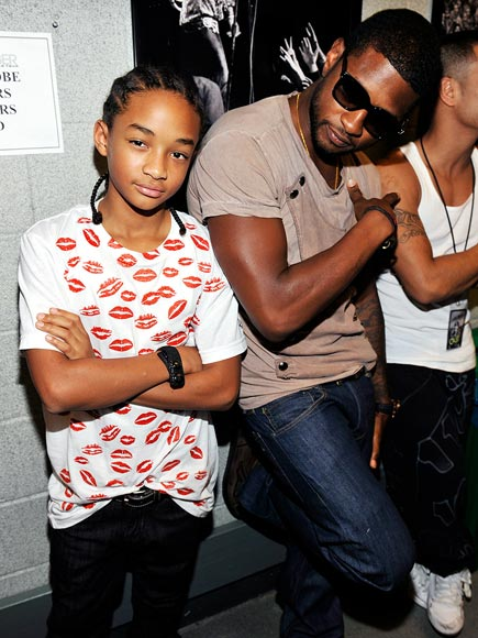 USHER photo | Jaden Smith, Usher
