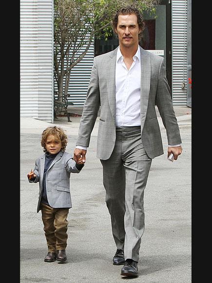 MATTHEW & LEVI MCCONAUGHEY photo | Matthew McConaughey